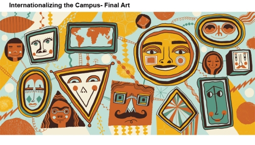 Final artwork for internationalizing the campus