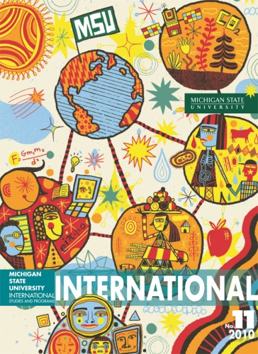 Cover art for MSU International