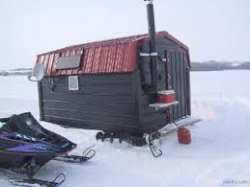 Ice-fishing!